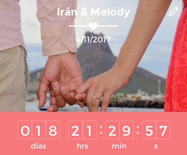 Ya estamos a 18 días!!! 😍😱💖😍👏🏻👰🏻💍🎩 - 1