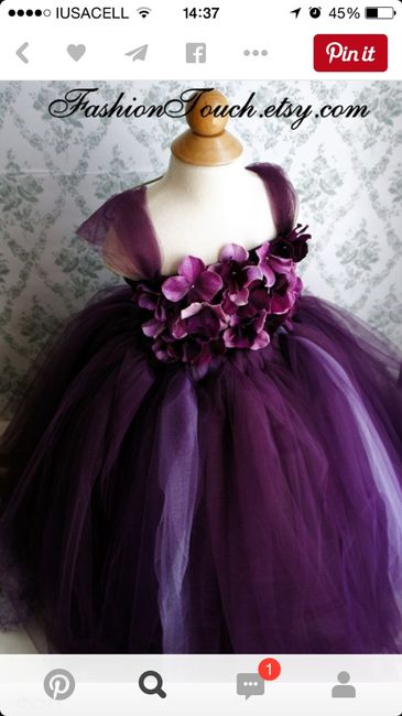 Chicas necesito vestido , de niña en color morado - Foro Moda ...