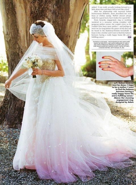 anne hathaway - foro bodas famosas - bodas.mx