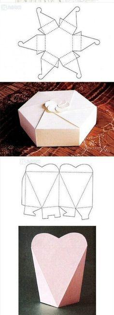 Moldes para cajitas armables foro manualidades para for Cajas de carton puebla