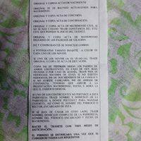 requisitos de Documentación requerida para iniciar tramites de una boda catolica - 1