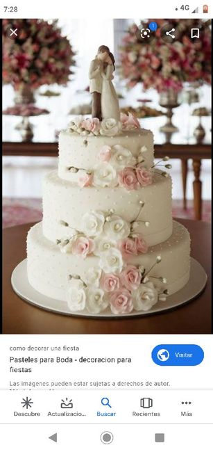 Inspectora de bodas: Pastel 4