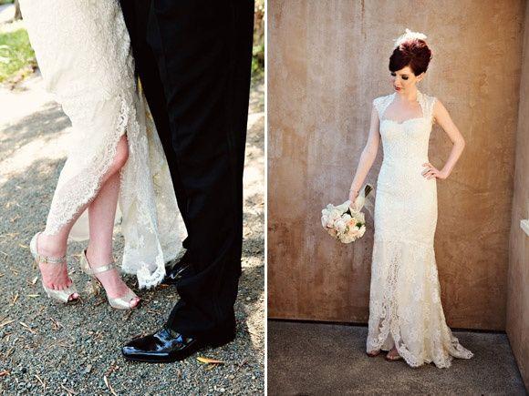 novia vintage : zapatos - foro moda nupcial - bodas.mx