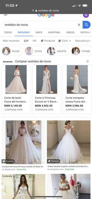 """[JUEGO] Si Googleas """"Vestido de novia""""... 2"""