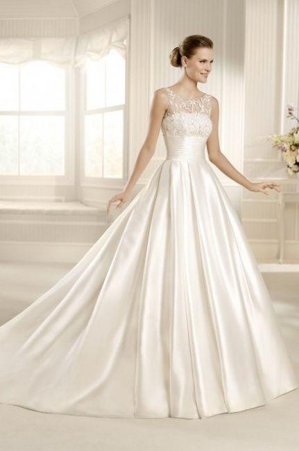 15 vestidos para novia con cuerpo forma triangulo invertido - foro