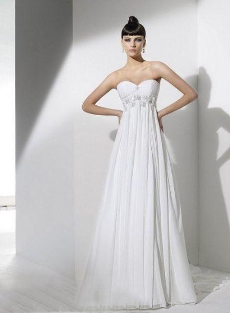 Vestido de novia onda griego