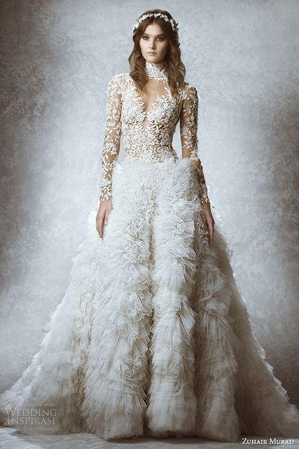 a9dae0adff Vestidos Zuhair Murad - novias otoño invierno 2015 - Foro Moda Nupcial -  bodas.com.mx