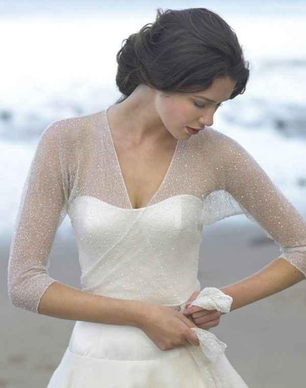 bolero para novia