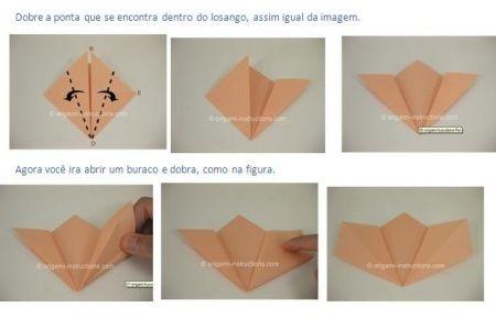 El Paso A Paso De Flores De Origami Foro Manualidades Para Bodas