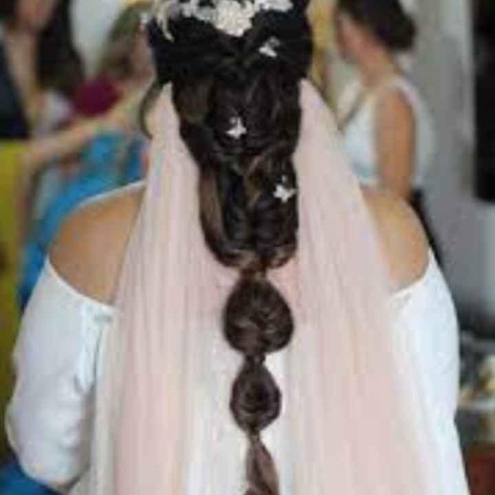 Peinado y velo - 2