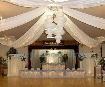 Decoraci n sal n telas foro organizar una boda bodas - Ver decoracion de salones ...