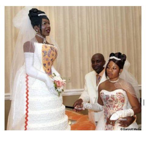 Los pasteles de boda más feos del mundo (humor de puente) - 1