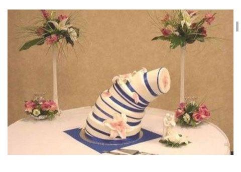 Los pasteles de boda más feos del mundo (humor de puente) - 10