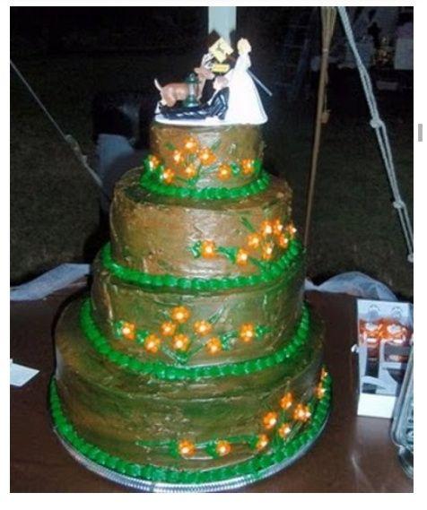 Los pasteles de boda más feos del mundo (humor de puente) - 11