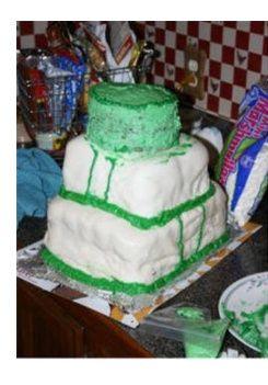 Los pasteles de boda más feos del mundo (humor de puente) - 12