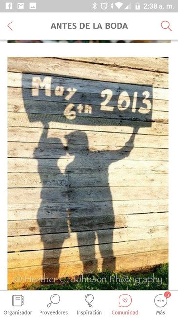 Ideas y poses para tu save the date - 1