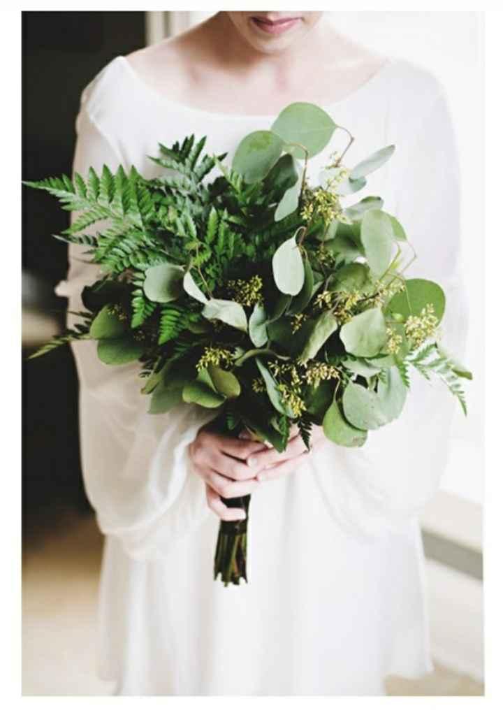 ¿Te atreverías usar un ramo verde? 🌈 - 1
