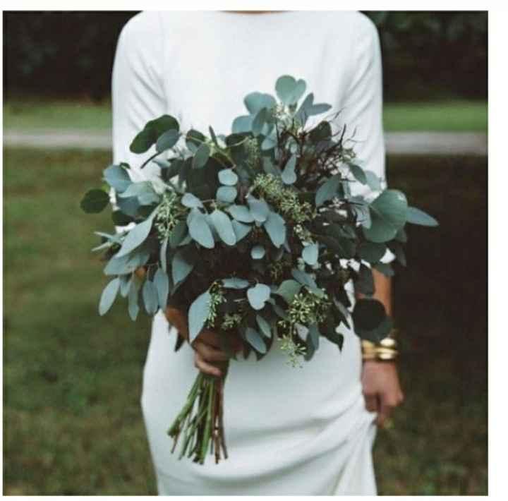 ¿Te atreverías usar un ramo verde? 🌈 - 2