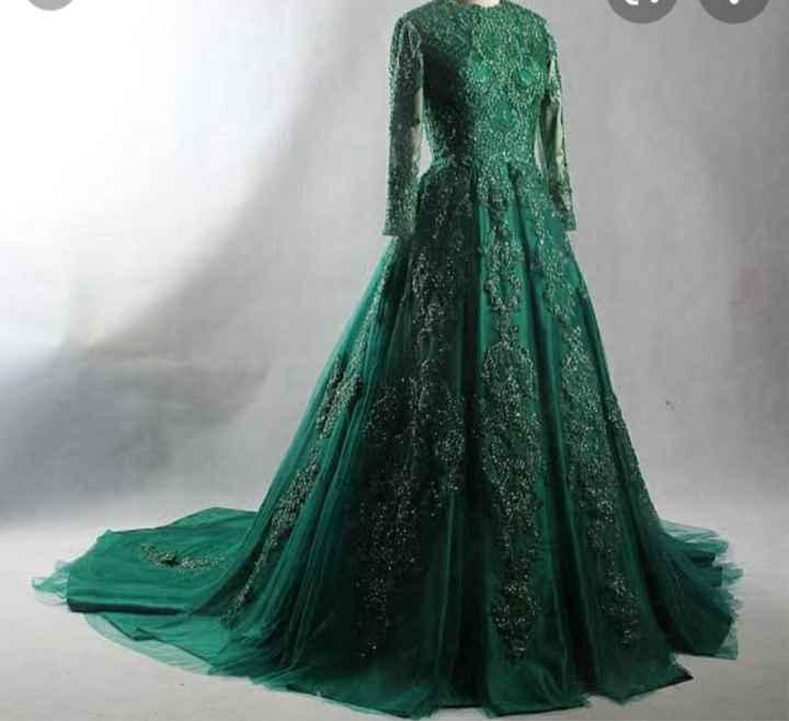 Vestidos en tonos verdes 🌈 - 1