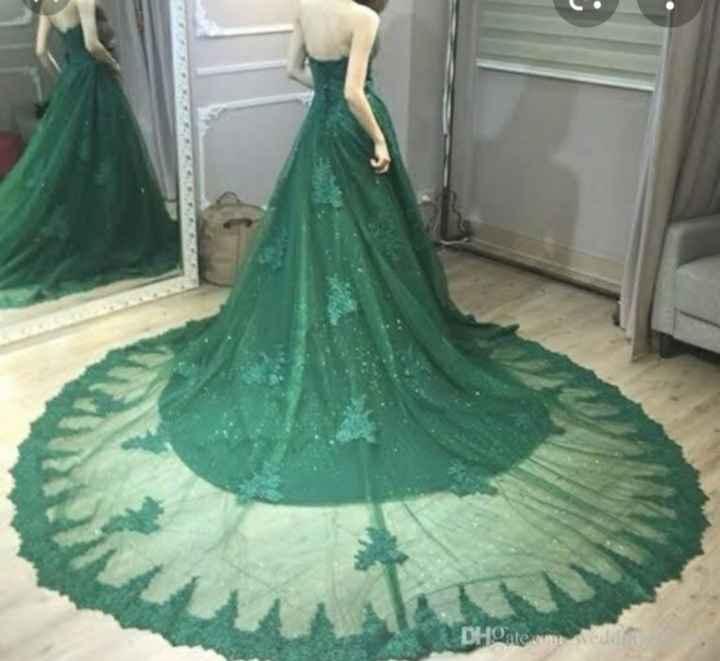 Vestidos en tonos verdes 🌈 - 2