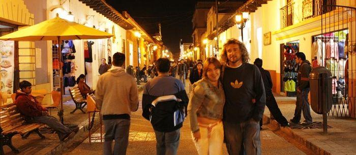 Calle Hidalgo en San Cristobal