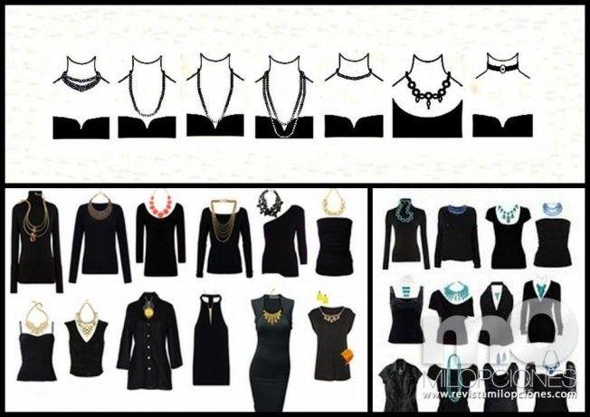 Tipos de collar para blusas
