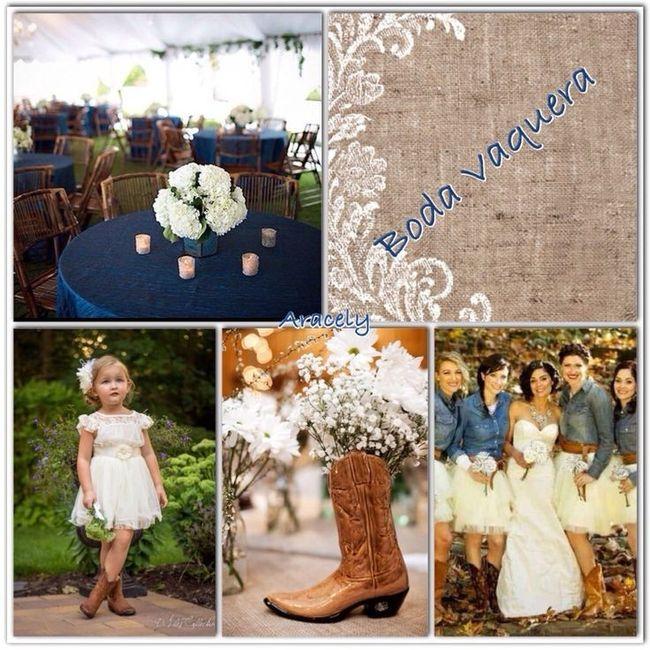 Una boda vaquera - Foro Organizar una boda - bodas.com.mx