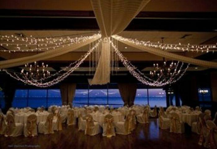 Decoraci n telas y luces foro organizar una boda - Telas para cortinas de salon ...