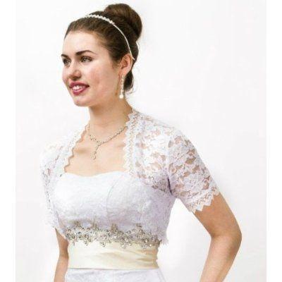 Vestido de novia con torera