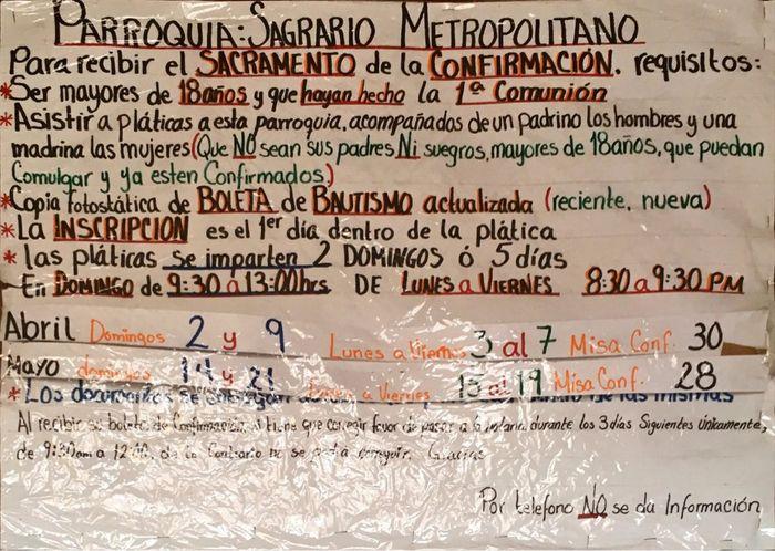 Matrimonio Catolico Sin Confirmacion : Pláticas para confirmación en guadalajara foro jalisco