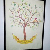 árbol de huellas - 1
