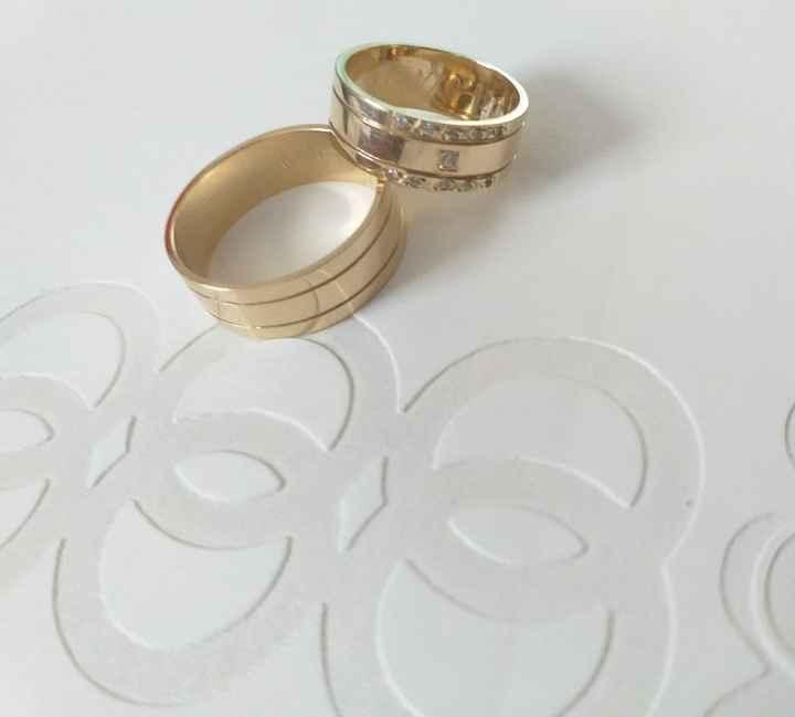Argollas de matrimonio: iguales o diferentes? - 1