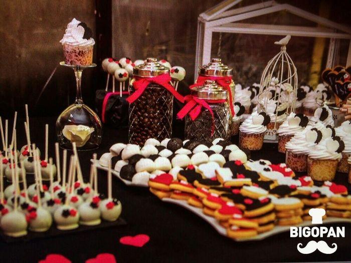 Ideas mesas de dulces boda foro organizar una boda for Mesas dulces para eventos