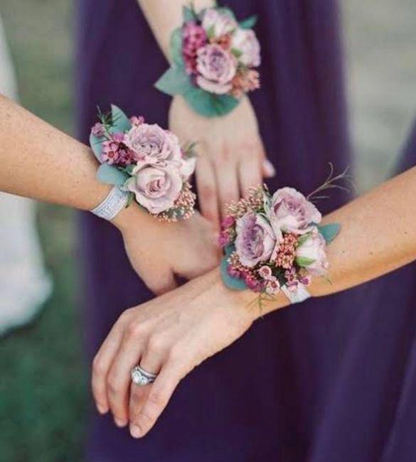 Ramo 💐 o pulsera para dama de honor? 🤔 2