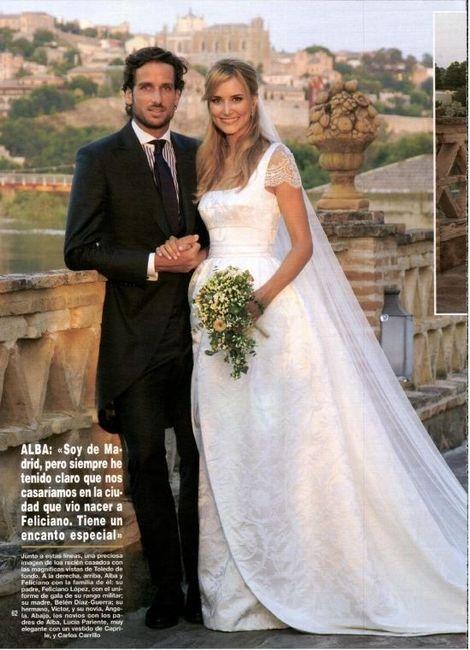 boda de feliciano lópez y alba carillo - foro bodas famosas - bodas