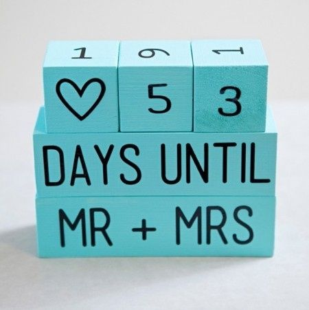 Calendario de boda