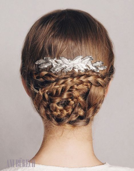 tendencias de peinados recogidos para novias