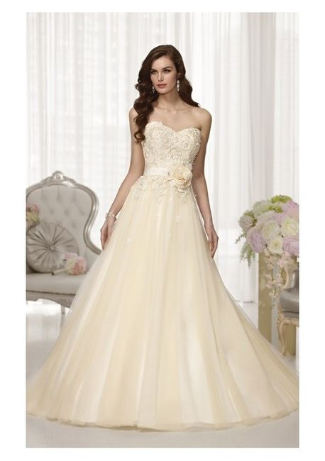 8ce2fc95b1914f Vestido de novia color ivory ¿sí o no  - Foro Moda Nupcial - bodas ...
