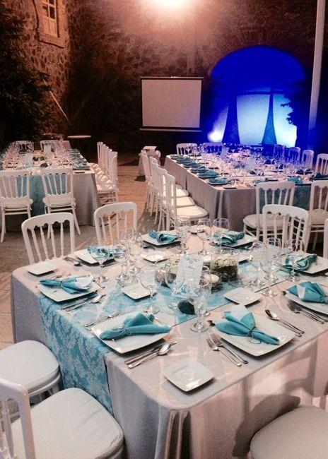 6 manteles para bodas de noche cu l eliges foro for Manteles de mesa cuadrada