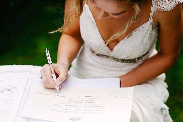 Cu nto cuesta casarse por el civil foro organizar una boda - Tramites para casarse por lo civil ...