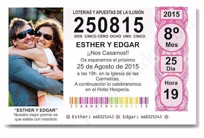 La lotería del amor de matrimonios.cl 1