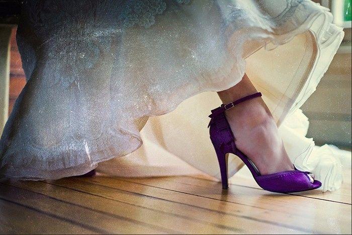 10 zapatos morados para novia ¿cuál escoges? - foro moda nupcial