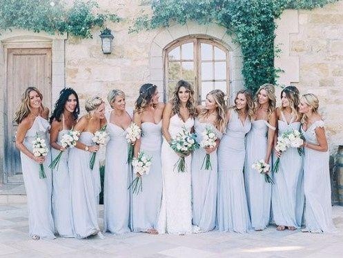 Vestidos para damas de honor en primavera