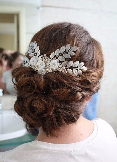 Peinado recogido o semirecogido foro belleza bodas - Peinados de novia recogido ...