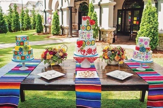 5 caminos de mesa estilo mexicano foro organizar una for Mesas puestas con estilo