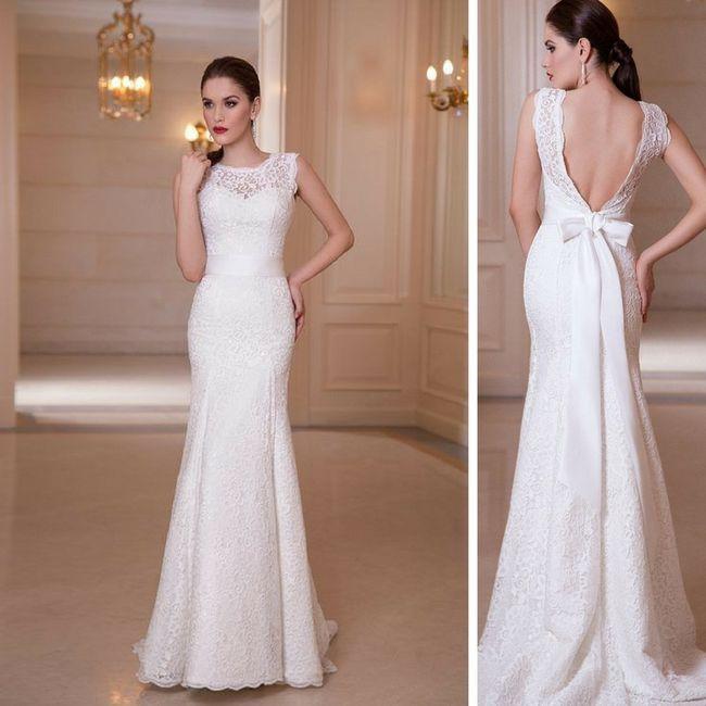 Vestido de novia ¿2017 o 2018? 1. \u003e\u003e