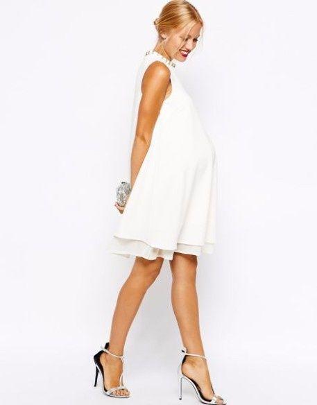 d0473cc02 7 vestidos para novias embarazadas 2