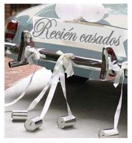 Letrero de recien casados foro manualidades para bodas - Sorpresas para recien casados ...