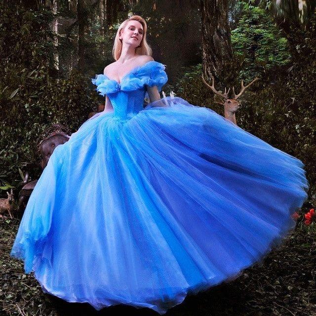 Érase una vez...vestido de Cenicienta 3
