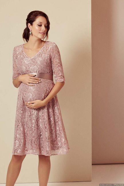 Dama embarazada, ¿díme, qué harías? 1